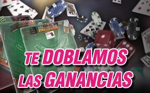 Wanabet Casino Miercoles doble ganancia